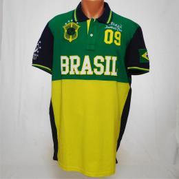 Pánská polokošile Brasil - XXL