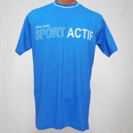 Modré pánské trièko Sport Actif - M - zvìtšit obrázek