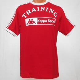 Èervené pánské trièko Kappa Sport - M