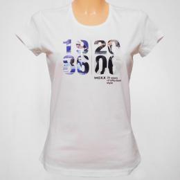 Bílé dámské trièko - M