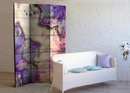 Paraván purpurová vzpomínka - 135x172 cm - Murando DeLuxe