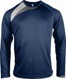 Pánský fotbalový dres - trièko dl. rukáv - navy/white/storm grey (L)