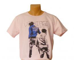 Pánské trièko VINTAGE - L