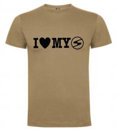 Pánské trièko I LOVE MY TRABANT