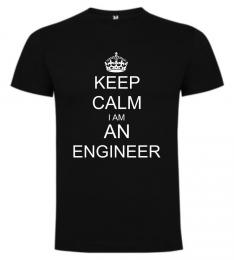 Pánské trièko KEEP CALM I AM AN ENGINEER