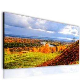 Malvis Obraz podzimní krajina