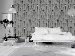 Grafitové rampouchy - 50x1000 cm - Murando DeLuxe