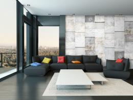 Kamenný triptych - 50x1000 cm - Murando DeLuxe