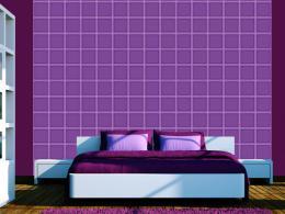 Borùvková geometrie - 50x1000 cm - Murando DeLuxe