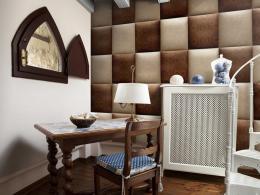 Èokoládová šachovnice - 50x1000 cm - Murando DeLuxe