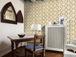 Bežovo zlatá mozaika - 50x1000 cm - Murando DeLuxe