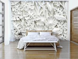 Samolepicí 3D tapeta - Zahrada z alabastru - 196x140 cm - Murando DeLuxe