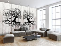 Samolepicí tapeta polibek stromù - 147x105 cm - Murando DeLuxe - zvìtšit obrázek