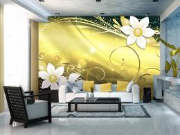 Murando DeLuxe Tapeta magická žlutá  - zvìtšit obrázek