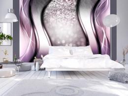 Murando DeLuxe Abstraktní fialová tapeta