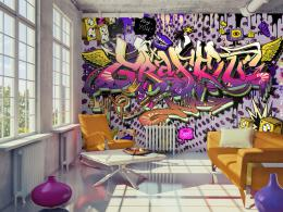 Murando DeLuxe Tapeta ahoj graffiti