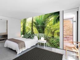 Murando DeLuxe Fototapeta zelené palmy  - zvìtšit obrázek