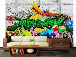 Murando DeLuxe Mìstské graffiti tapeta