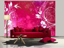 Murando DeLuxe Tapeta magické ornamenty - rùžová