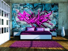 Murando DeLuxe Tapeta anonymní graffiti