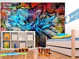 Murando DeLuxe Dìtská fototapeta Graffiti