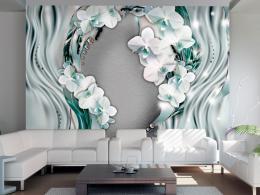 Murando DeLuxe Tapeta proud orchidejí  - zvìtšit obrázek
