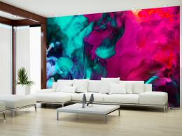 Murando DeLuxe Tapeta barevný dým