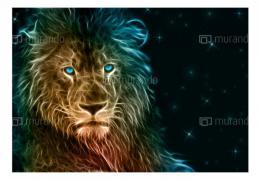 Murando DeLuxe Tapety zvíøata - Lev