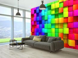 Murando DeLuxe 3D tapeta - v rytmu barev