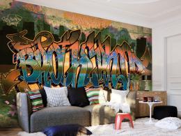 Murando DeLuxe Tapeta Graffiti Street Art