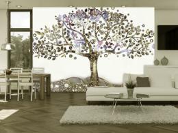 Murando DeLuxe Tapeta strom v Edenu Rozmìry (š x v) a Typ  150x105 cm - vliesové