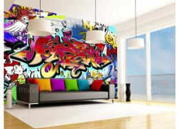Murando DeLuxe Street art tapeta