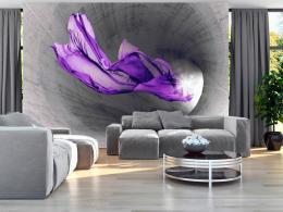 Murando DeLuxe Tapeta fialový závoj