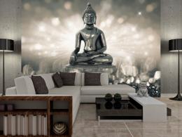 Murando DeLuxe Tapeta støíbrný Buddha