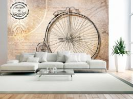 Murando DeLuxe Tapeta historický bicykl