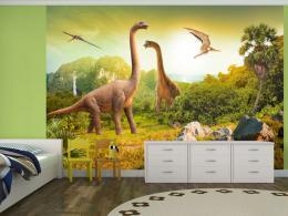 Murando DeLuxe Tapeta dinosauøi
