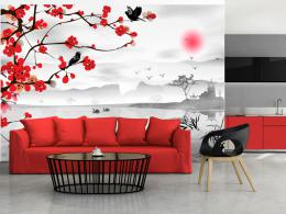 Murando DeLuxe Tapeta japonská zahrada  - zvìtšit obrázek