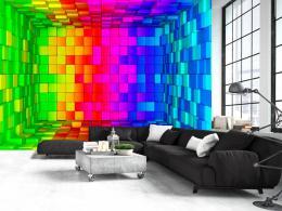 Murando DeLuxe Tapeta barevná krabice