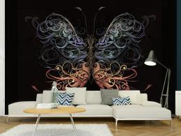 Murando DeLuxe Tapeta motýl - ornament