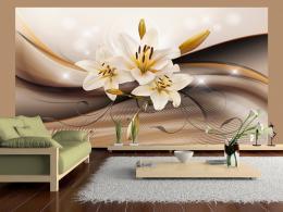 Murando DeLuxe Tapeta - Sametová lilie