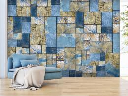 Murando DeLuxe Modrá mozaika