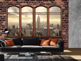 Murando DeLuxe Tapeta New York za oknem