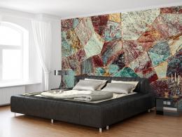 Murando DeLuxe Elegantní kamenná tapeta Rozmìry (š x v) a Typ  392x280 cm - samolepící