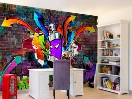 Murando DeLuxe Graffiti barevný útok