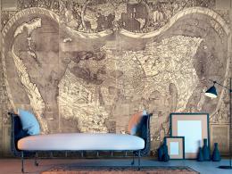 Murando DeLuxe Tapeta mapa Ameriga Vespucci