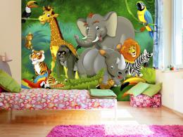 Murando DeLuxe Dìtská tapeta Safari