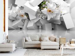 Murando DeLuxe Fototapeta lilie v chaosu Rozmìry (š x v) a Typ  350x245 cm - vliesové