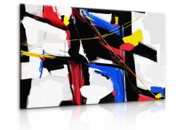 InSmile ® Obraz abstraktní malba Velikost  60x40 cm