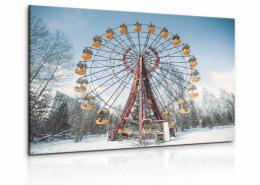 InSmile ® Obraz Mrazivé Èernobylské kolo