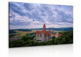 Malvis Obraz hrad Bouzov II